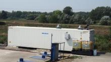 Slovakia - Leachate treatment Reverse Osmosis RCDT unit
