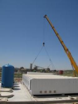 Rotreat - Sevilla, Spain - industrial mine waste water treatment unit